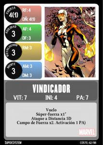 VINDICADOR-Frontal
